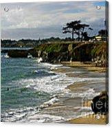 Santa Cruz Beach Acrylic Print by Carol Groenen