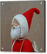 Santa Sr. - Keeping The Faith Acrylic Print by David Wiles