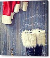 Santa's Boots Acrylic Print by Amanda And Christopher Elwell