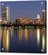 Saturday Night Live In Beantown Acrylic Print by Juergen Roth