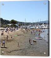 Sausalito Beach Sausalito California 5d22696 Acrylic Print by Wingsdomain Art and Photography