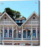 Sausalito Boutique Acrylic Print by Connie Fox