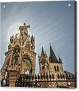 Scaligeri Family Tombs Acrylic Print by Maria Coulson