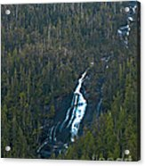 Scenic Waterfall Acrylic Print by Robert Bales