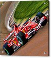Schumacher Bend Acrylic Print by Blake Richards