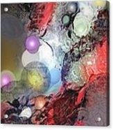 Sci-fi Acrylic Print by Francoise Dugourd-Caput
