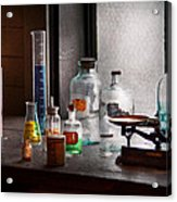 Science - Chemist - Chemistry Equipment  Acrylic Print by Mike Savad