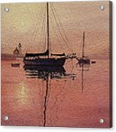 Scituate Serenity Acrylic Print by Karol Wyckoff