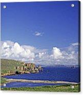 Scotland Shetland Islands Eshaness Cliffs Acrylic Print by Anonymous