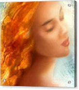 Sea Nymph Dream Acrylic Print by Michael Rock