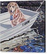 Seadog Acrylic Print by Danielle  Perry