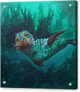 Seal Acrylic Print by Kathleen Kelly Thompson