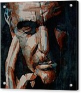 Sean Connery  Acrylic Print by Paul Lovering