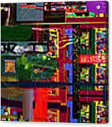 Search For The Straying Son 14d Acrylic Print by David Baruch Wolk