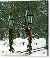 Season's Greetings Acrylic Print by Jayne Carney