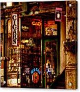 Seattle Cigar Shop Acrylic Print by David Patterson
