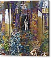 Secret Garden Acrylic Print by Ursula Freer