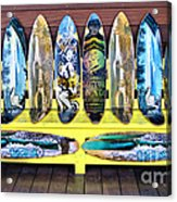 Sector Nine Skateboards Acrylic Print by Cheryl Young
