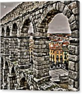 Segovia Aqueduct - Spain Acrylic Print by Juergen Weiss