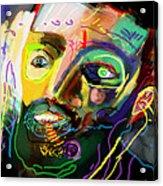 Self Development 11 Acrylic Print by David Baruch Wolk