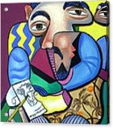 Self Portrait 101 Acrylic Print by Anthony Falbo