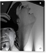 Self Portrait Acrylic Print by Kip Krause
