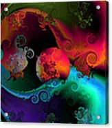 Seperation And Individuation Acrylic Print by Claude McCoy