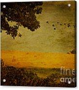 September Acrylic Print by Lois Bryan
