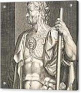 Sergius Galba Emperor Of Rome  Acrylic Print by Titian