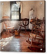 Sewing - Room - Grandma's Sewing Room Acrylic Print by Mike Savad