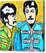 Sgt. Pepper's Lonely Hearts Club Acrylic Print by Tara Richelle