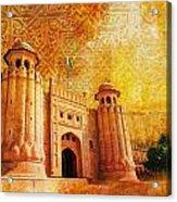 Shahi Qilla Or Royal Fort Acrylic Print by Catf