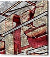 Shai-hulud Caged Acrylic Print by MJ Olsen