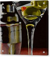 Shaken Not Stirred Acrylic Print by Cory Still