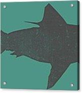 Shark Ll Acrylic Print by Michelle Calkins