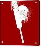 Shaun Of The Dead Custom Poster Acrylic Print by Jeff Bell