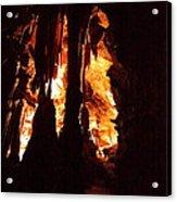 Shenandoah Caverns - 121247 Acrylic Print by DC Photographer