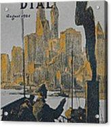 Ship Approaching Land Acrylic Print by Edward Hopper