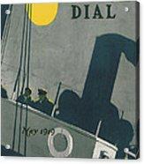 Ship At Night Acrylic Print by Edward Hopper