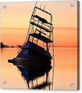 Shipwrecked In Navarre Acrylic Print by JC Findley