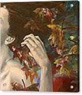 Shivers Acrylic Print by Dorina  Costras