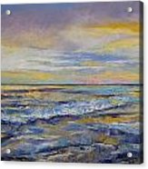 Shores Of Heaven Acrylic Print by Michael Creese