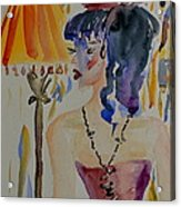 Showgirl Acrylic Print by Beverley Harper Tinsley