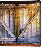 Shuttered Acrylic Print by The Forests Edge Photography - Diane Sandoval