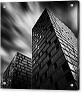 Side By Side Acrylic Print by Dave Bowman