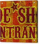 Sideshow Entrance Sign Acrylic Print by Jera Sky