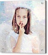 Silent Angel Acrylic Print by Stephanie Frey