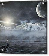 Silent Rise Acrylic Print by Svetlana Sewell