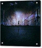 Silent Scream Acrylic Print by Stelios Kleanthous