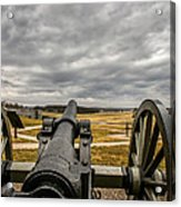 Silent Vigil At Gettysburg Acrylic Print by Mountain Dreams